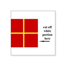 US Naval Flag Code Romeo Sticker