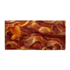 Sizzling Bacon Beach Towel Beach Towel
