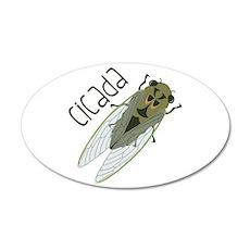 Cicada Wall Decal