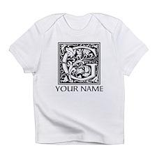 Custom Decorative Letter G Infant T-Shirt