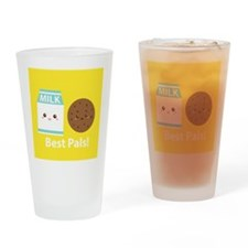 Milk-and-cookies-cafepress Drinking Glass