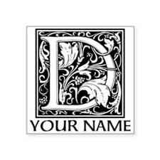 Custom Decorative Letter D Sticker