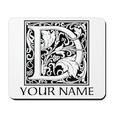 Custom Decorative Letter D Mousepad