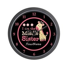I am the Middle Sister Wall Clock