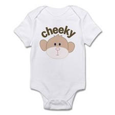 cheeky monkey Infant Bodysuit