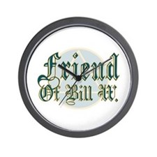 Friend Of Bill W. Wall Clock