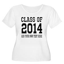 Class of 2014 Graduation Plus Size T-Shirt
