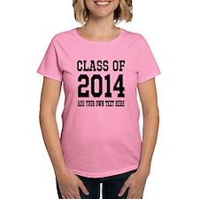 Make Yoru Own Class Of 2014 Graduation T-Shirt