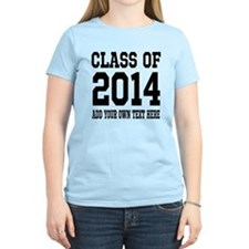 Custom Class Of 2014 Graduation Tee Shirts T-Shirt