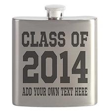 Class of 2014 Graduation Flask
