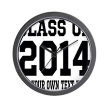 Class of 2014 Graduation Wall Clock