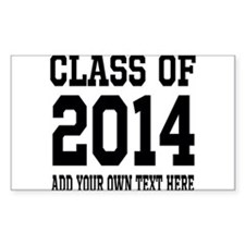 Class of 2014 Graduation Bumper Stickers