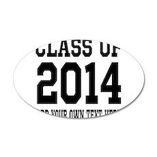 Class of 2014 Graduation Wall Decal