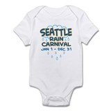 Seattle Rain Carnival Infant Bodysuit