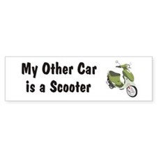 Just Gotta Scoot Italia Buddy Bumper Bumper Sticker