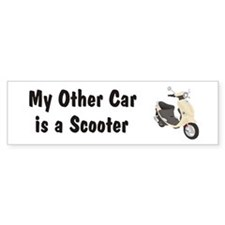 Just Gotta Scoot Cream Buddy Bumper Bumper Sticker