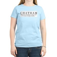 Quaint Fishing Village Women's T-shirt