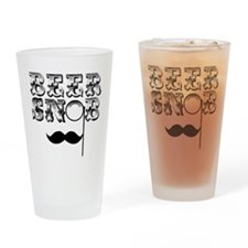 Beer Snob Pint Drinking Glass