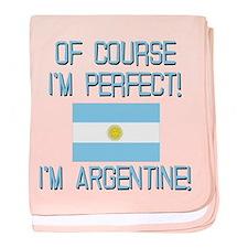 Perfect Argentine baby blanket