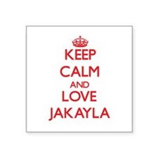 Keep Calm and Love Jakayla Sticker
