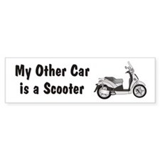 Just Gotta Scoot People 250 Bumper Bumper Sticker