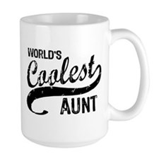 World's Coolest Aunt Mugs
