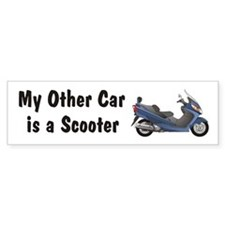 Just Gotta Scoot Burgman Bumper Bumper Sticker