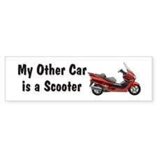 Just Gotta Scoot Reflex Bumper Bumper Sticker