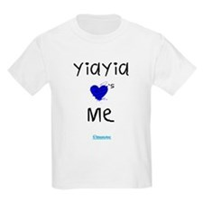 Kids Yiayia Loves Me T-Shirt
