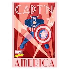 Decco Captain America Wall Art