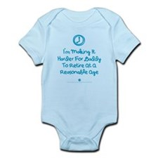 Retire Late Infant Bodysuit Body Suit