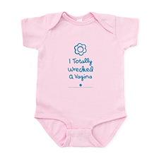 Wrecked A Vagina Infant Bodysuit Body Suit