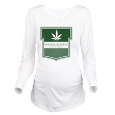 Private Reserve Long Sleeve Maternity T-Shirt