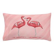 Pink Flamingos Pillow Case
