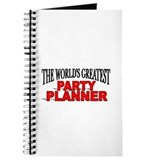 """The World's Greatest Party Planner"" Journal"