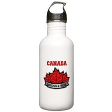 Canadian Pride STRONG & FREE Water Bottle