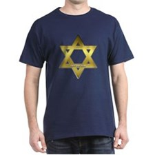 Gold Star of David T-Shirt