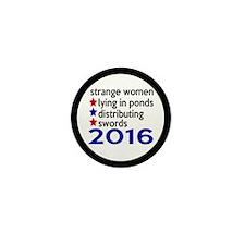 Distributing Swords 2016 Mini Button