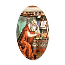 Saint Jerome in his Study Wall Decal