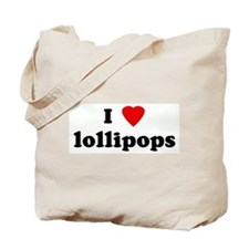 I Love lollipops Tote Bag
