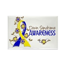DS Awareness 6 Rectangle Magnet (10 pack)
