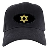 Gold Star of David Baseball Cap