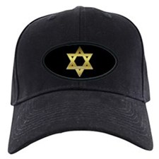 Gold Star of David Baseball Hat