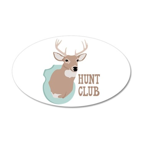 HUNT CLUB Wall Decal