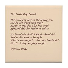 poem analysis the little boy lost Get an answer for 'give a thematic summary of blake's poems: the lamb, the little boy lost and found, a dream, the little girl lost and found' and find homework help for other songs of innocence and of experience questions at enotes.