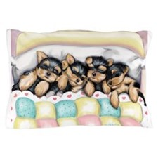 Sleeping Babies Pillow Case