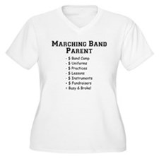 Marching Band Plus Size T-Shirt