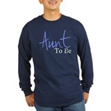 Aunt To Be (Blue Script) T