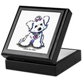 Maltese Diva Keepsake Box