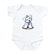 Maltese Diva Infant Bodysuit